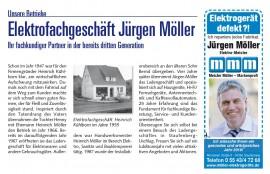 Elektrofachgeschäft Jürgen Möller - Ihr fachkundiger Partner in der bereits dritten Generation