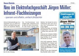 Infrarot Flachheizung - Nov. 2014